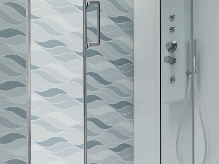 Box doccia angolare con porta scorrevole s6 performance 160 x 90