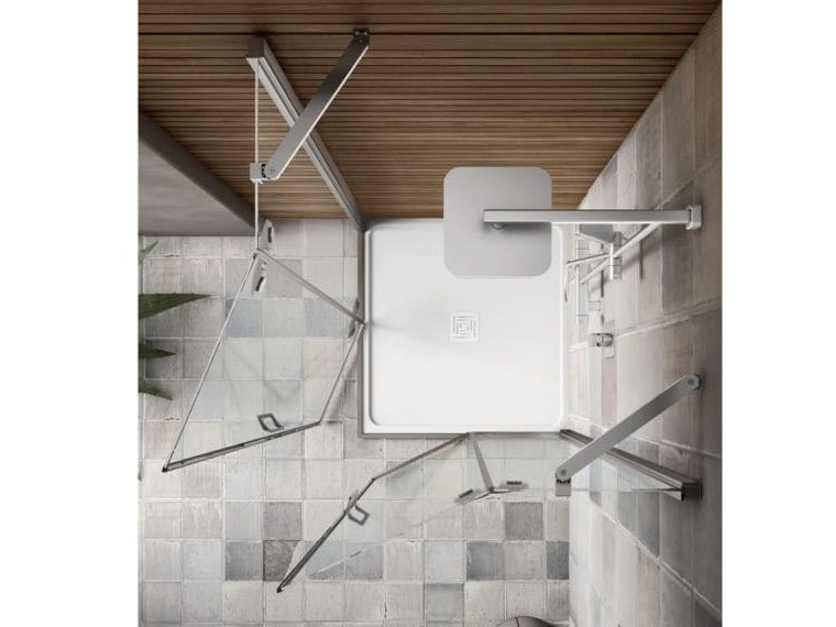 S6 | Box doccia con porta a battente