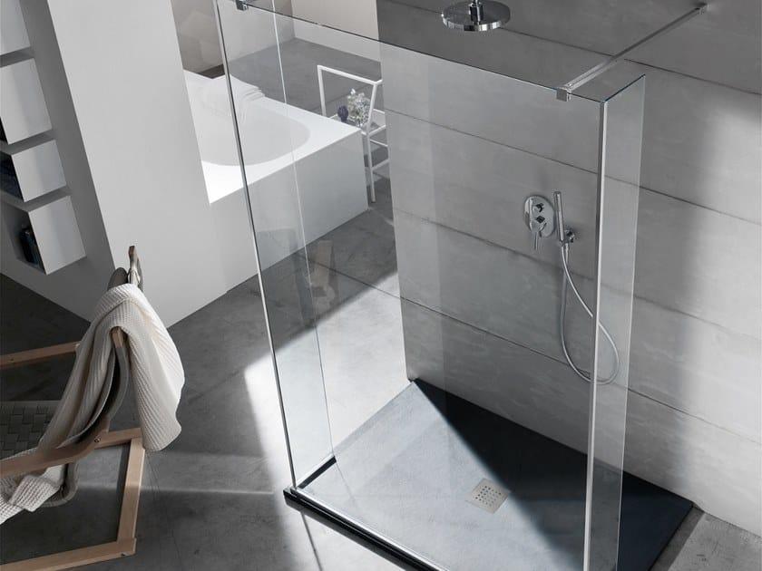 Walk in shower S6 WALK-IN 140 x 80 by Arcom