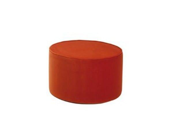 Upholstered fabric pouf SA36 | Pouf by Matrix International