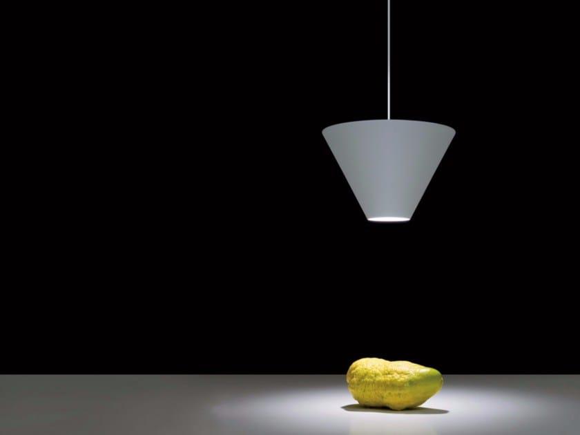 Halogen metal pendant lamp SABA by DAVIDE GROPPI