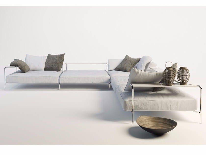 Corner sectional fabric sofa SABAL | Corner sofa by Coro