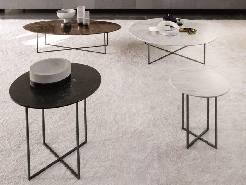 Tavolino in marmo da salotto SABI | Tavolino in marmo by Désirée divani