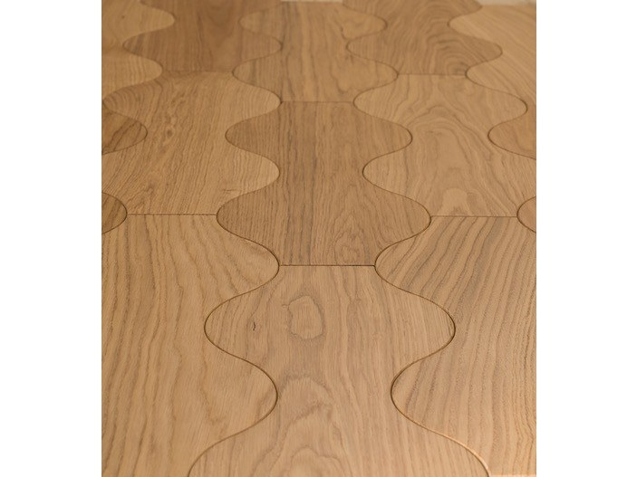 Oak wall tiles / parquet SABLIER by MENOTTI SPECCHIA