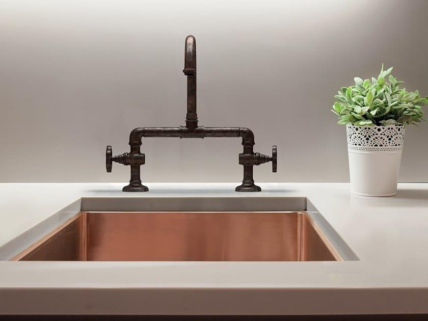 Lavello a una vasca in rame SABRI | Lavello a una vasca by BLEU PROVENCE