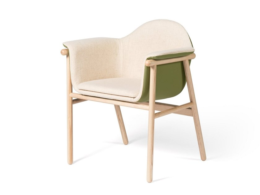 Easy chair with armrests SACADURA by DAM