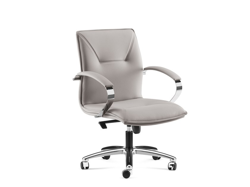 Executive chair with 5-spoke base with armrests SADIA PLUS | Executive chair by Arte & D