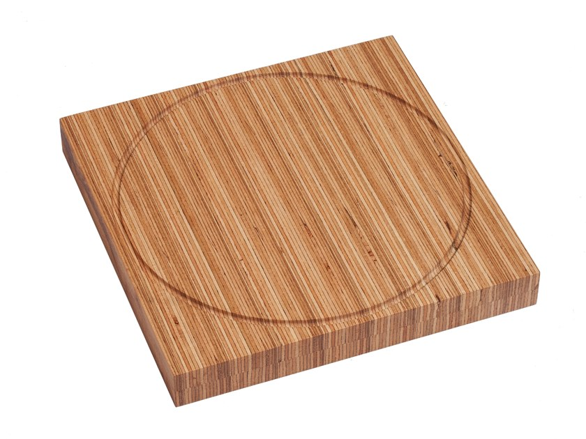 Square beech chopping board SAFARI | Chopping Board - Steak by designimdorf
