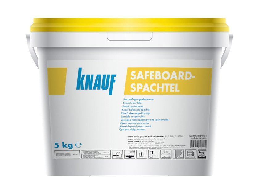 Gypsum and plaster SAFEBOARD SPACHTEL by Knauf Italia