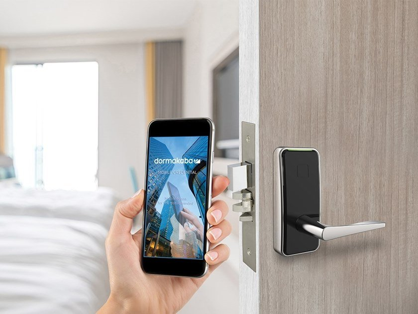 Lock for hotels SAFFIRE LX by Dormakaba