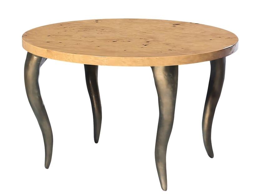 Round coffee table SAFIRA K1200 by KARPA