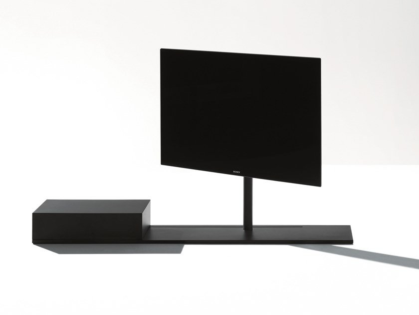 Swivel Steel Tv Cabinet Sail 302 By Desalto Design Caronni