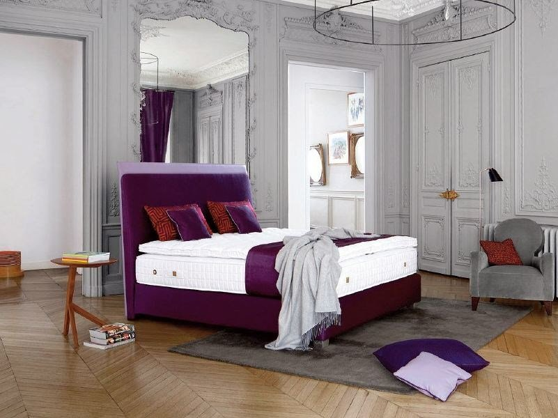 Testiera in tessuto per letto matrimoniale SAINT GERMAIN by Treca Interiors