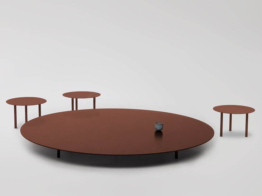 Low coffee table SAINT-LAURENT T02 by Foraine by Atelier Barda
