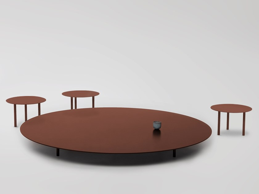 Tavolino basso da caffè SAINT-LAURENT T02 by Foraine by Atelier Barda