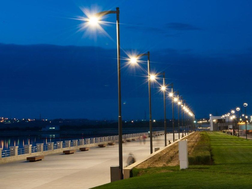 Street Lamp Saiph By Neri Design Alfredo Farnè