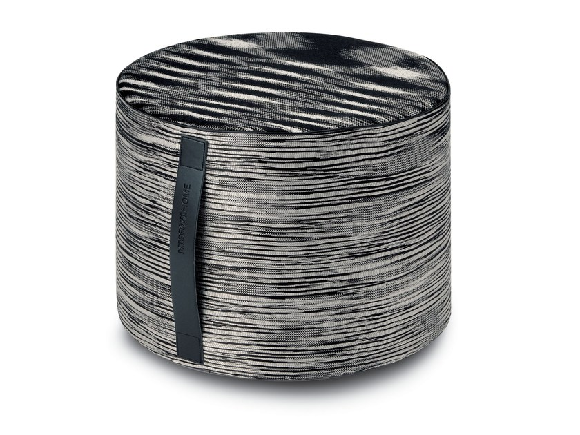 Pouf with removable lining SAKAI by MissoniHome