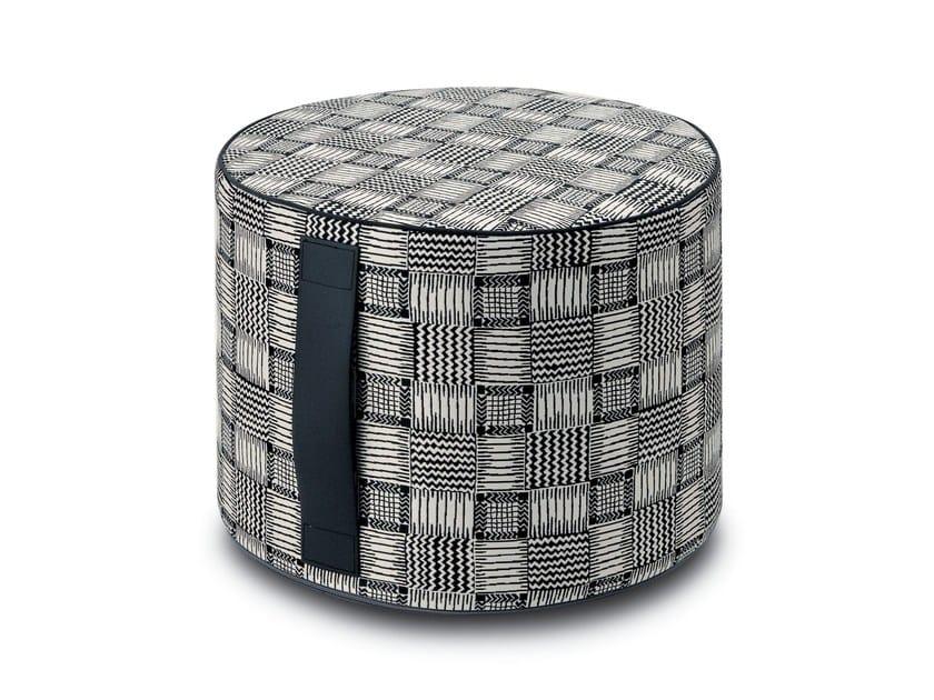 Pouf cilindro in tessuto SAKATA | Pouf by MissoniHome