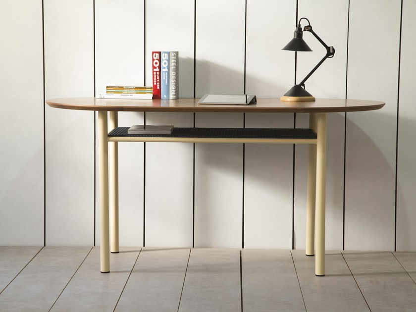 Oval oak dining table SALBE | Oak table by Kann Design