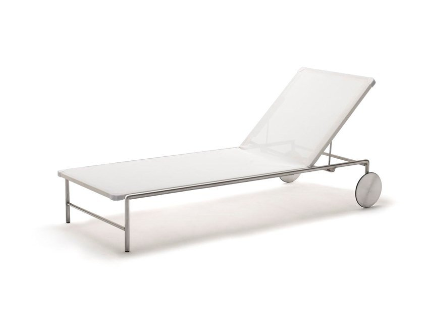Fabric garden daybed with Casters SALE by Living Divani