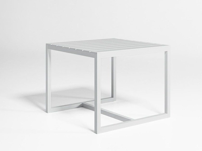 Square garden table SALER | Square table by GANDIA BLASCO