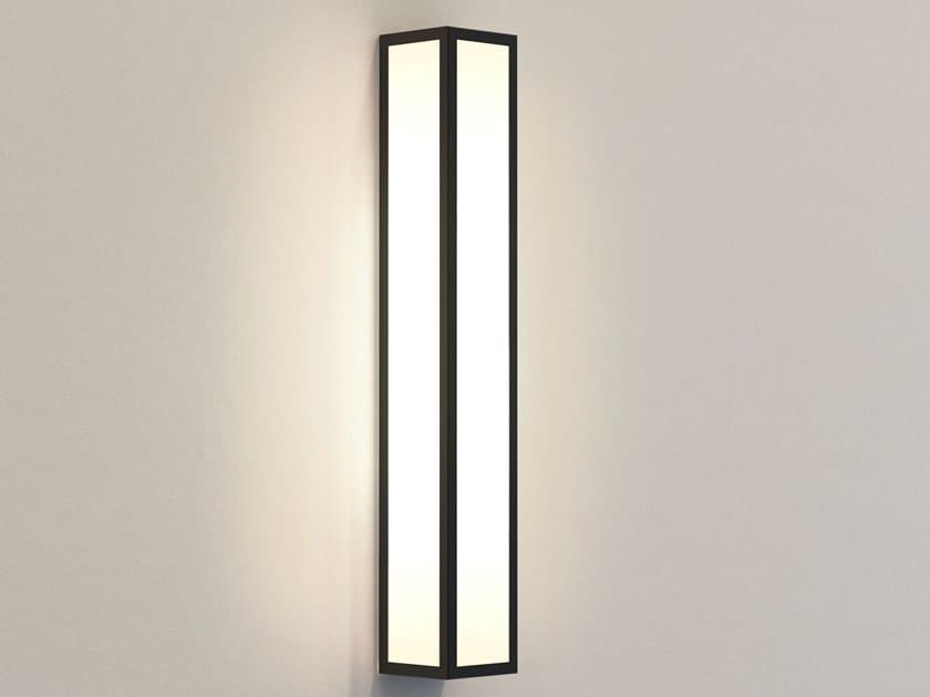 Lampada da parete per esterno in acciaio e vetro SALERNO 520 by Astro Lighting
