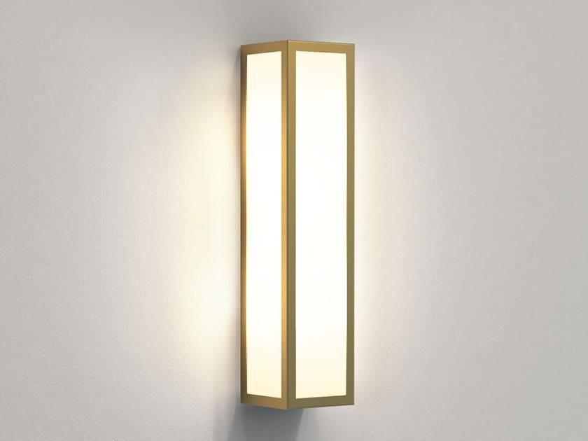 Applique per esterno a LED in ottone e vetro SALERNO   Applique per esterno by Astro Lighting