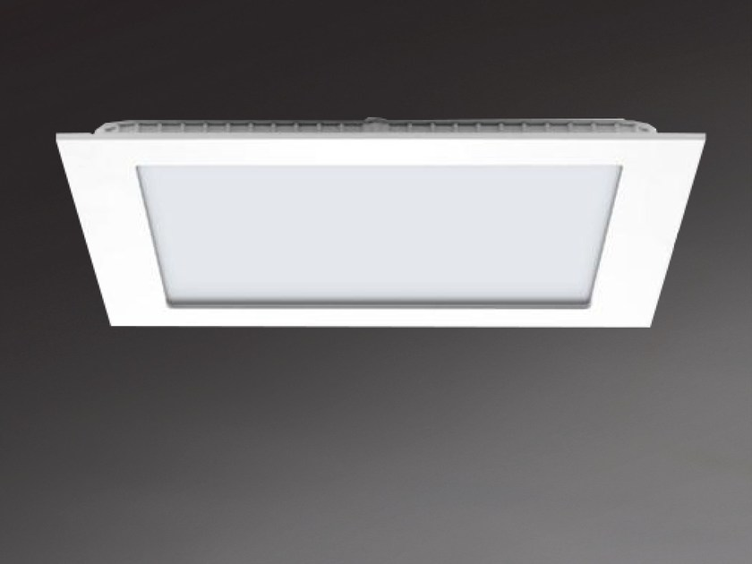 Recessed ceiling lamp SALERNO SQUARE 8883 by Metalmek