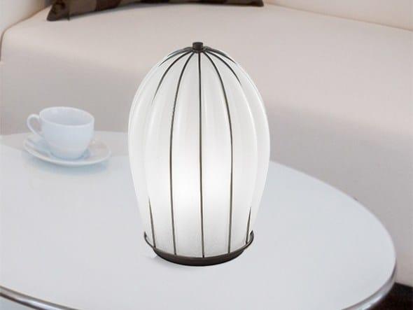 Murano glass table lamp SALICE RT 429 by Siru