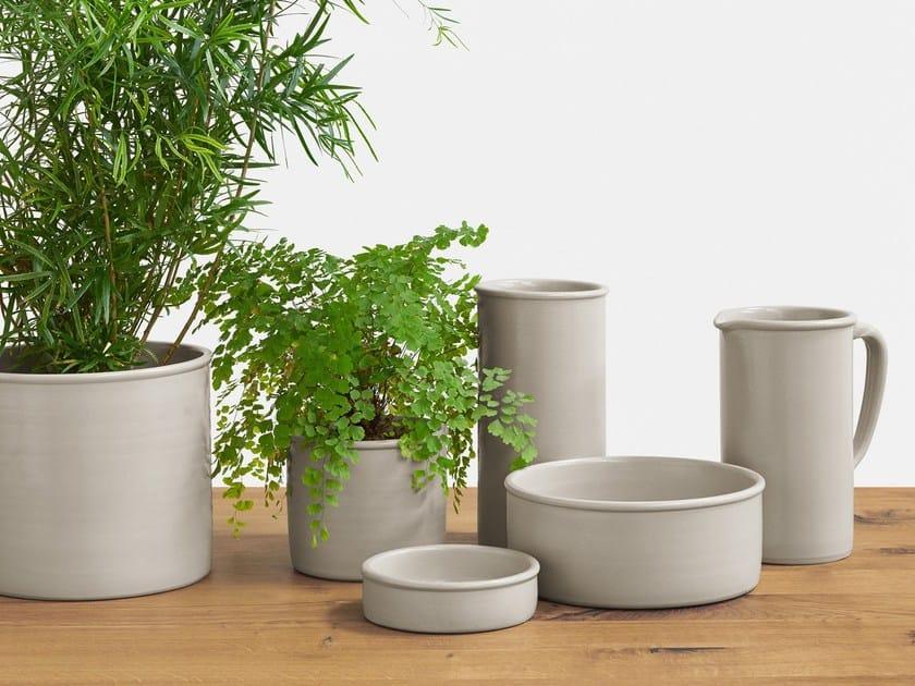 Porcelain stoneware bowl SALINA by e15