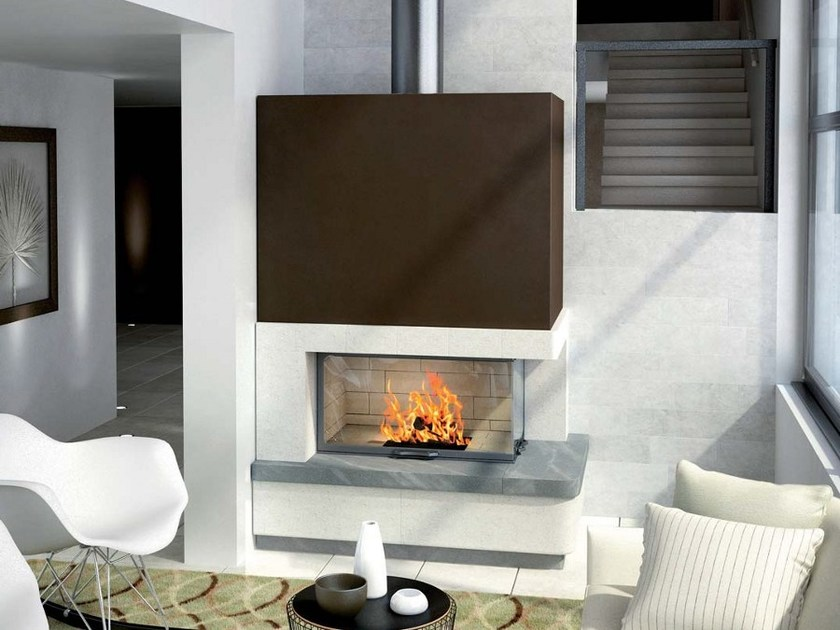 Natural stone Fireplace Mantel SALMA by Axis