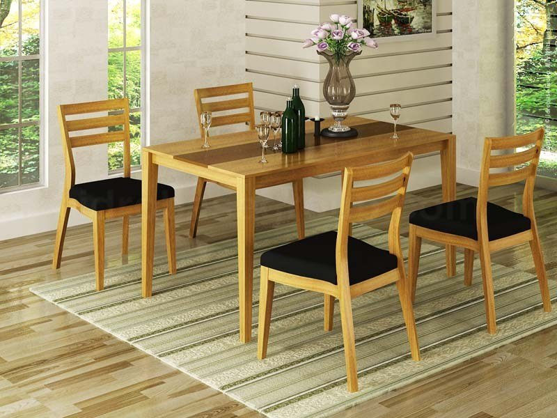 Rectangular wooden garden table SALONE by Enjoy your Life