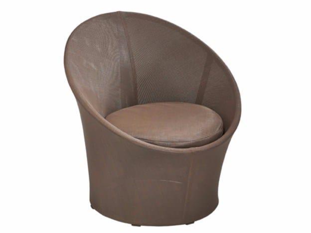 Garden Batyline® easy chair SALVO | Garden easy chair by MOBIKA GARDEN