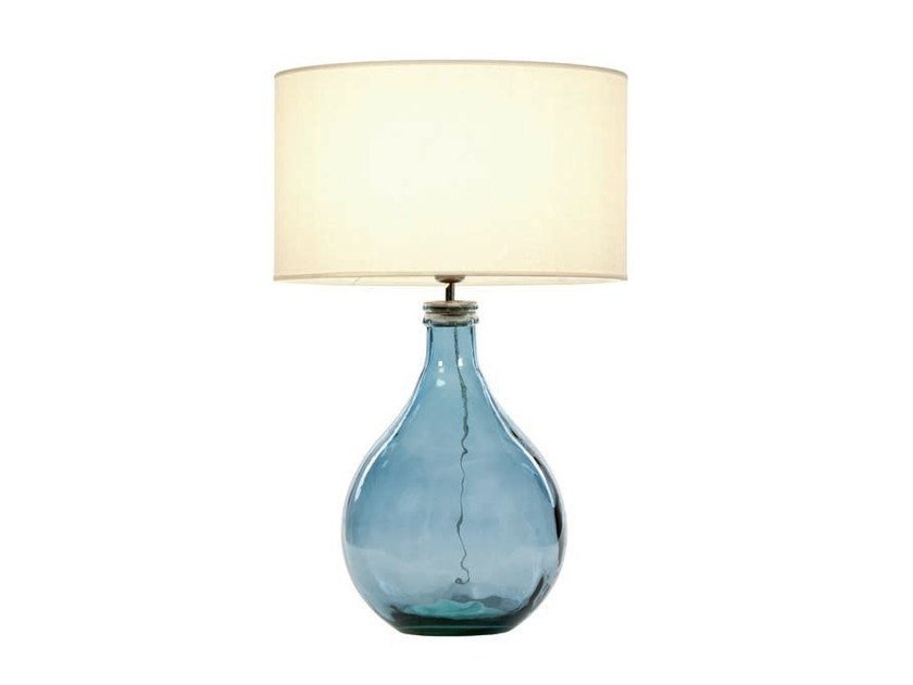 Recycled glass table lamp SAM by Aromas del Campo
