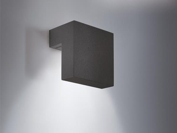 Applique per esterno a led in alluminio sampa d collezione sampa by