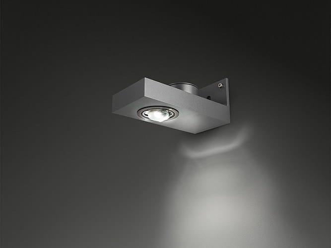 LED direct light aluminium wall lamp SAMPA D-PRO - SAMPA S-PRO by BEL-LIGHTING