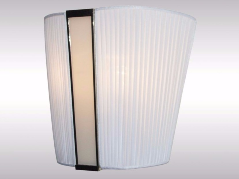 Fabric wall lamp SAMURAI by Woka Lamps Vienna