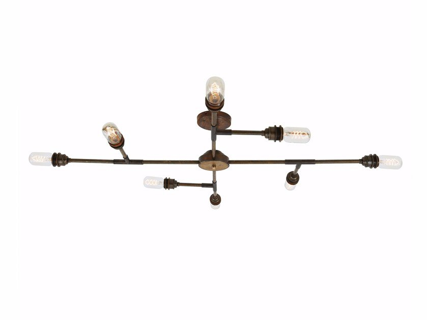 Brass chandelier SAN FELIPE 8 Arm by Mullan Lighting