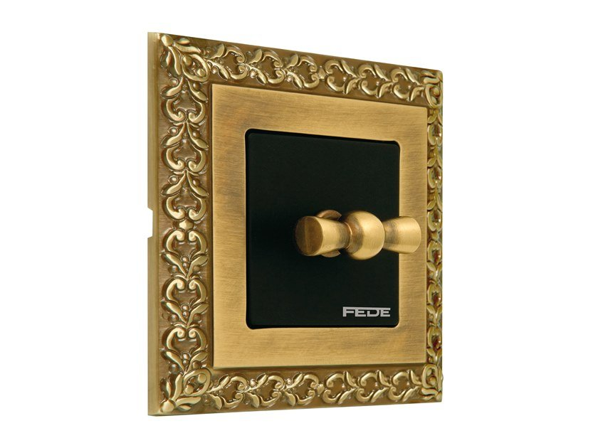 Brass wiring accessories SAN SEBASTIAN by FEDE