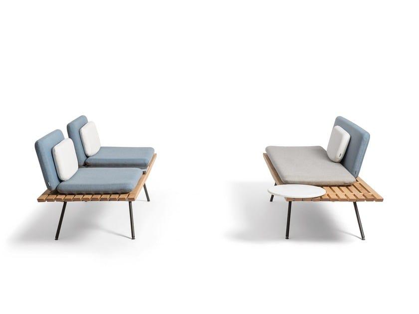 SAN   Gartenbank By MANUTTI Design Lionel Doyen