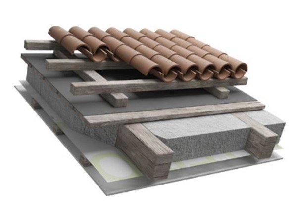 Ventilated roof system SANAPLUS 1 by Naturalia BAU
