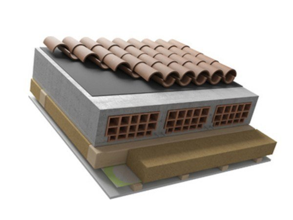 Ventilated roof system SANAPLUS by Naturalia BAU