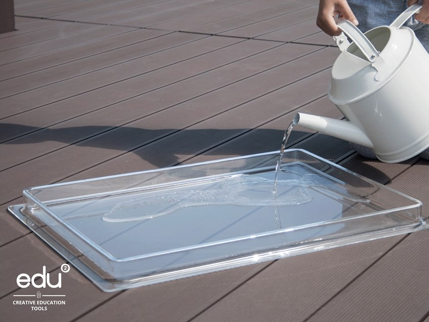 Acrylic glass tabletop SAND AND WATER TABLETOP by Edu2