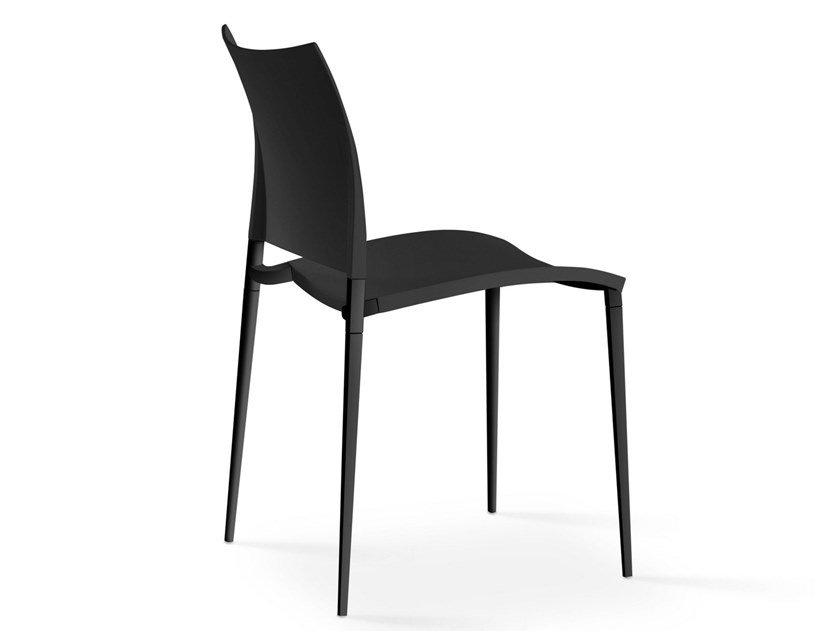 Stackable polypropylene chair SAND | Polypropylene chair by Desalto