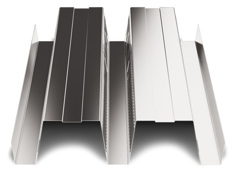 Corrugated and undulated sheet steel SAND150 CLS by SANDRINI METALLI