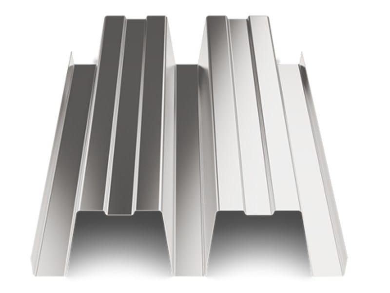 Corrugated and undulated sheet steel SAND150 | Metal sheet by SANDRINI METALLI