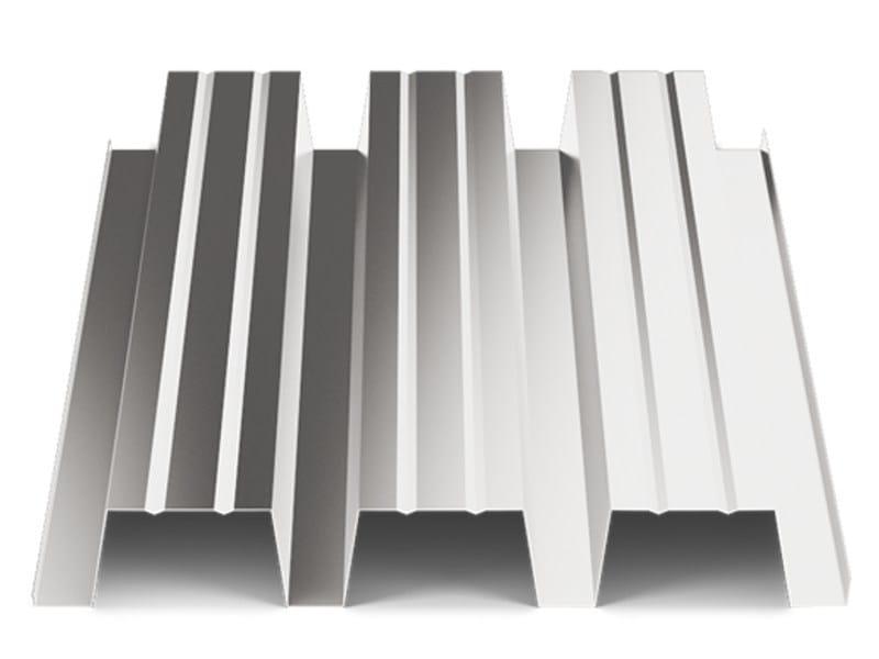 Corrugated and undulated sheet steel SANDA75 P570 | Metal sheet by SANDRINI METALLI