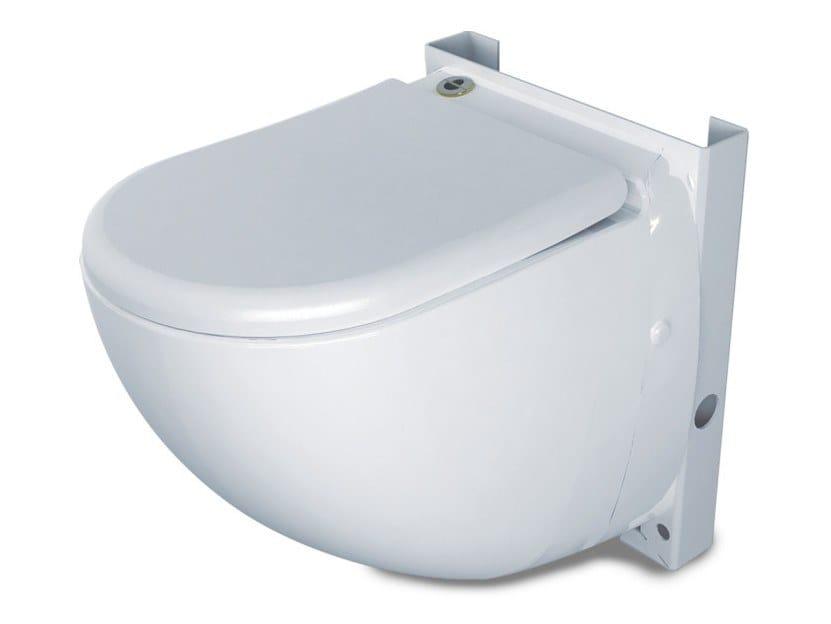 WC suspendu avec broyeur sanitaire SANICOMPACT COMFORT ECO S by Sanitrit