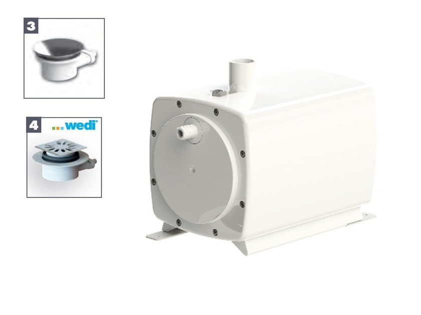 Wastewater pump SANIFLOOR 3 - 4 by Sanitrit