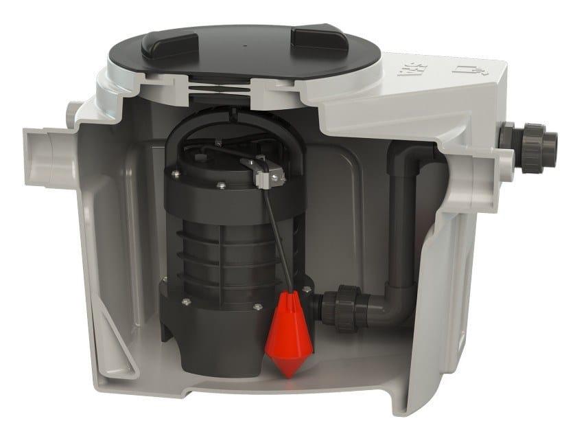 Grey water unit SANIFOS 110 by Sanitrit